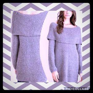 Sweaters - Oversized soft knit chunky sweater